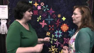 kathie beltz honorable mention in small wall quilts longarm machine quilted