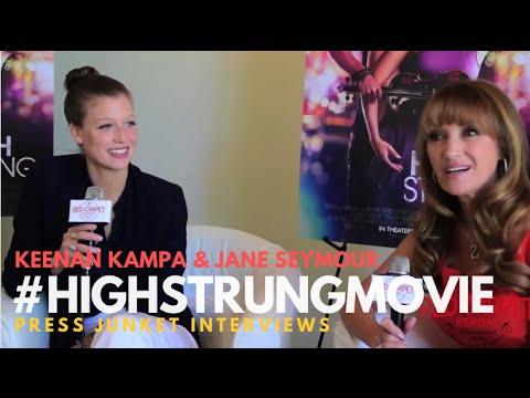 "Keenan Kampa, Jane Seymour talking about ""High Strung"" #HighStrungMovie"