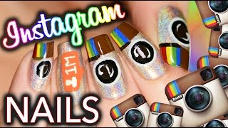 INSTAGRAM nail art! Be a social media whore YASS