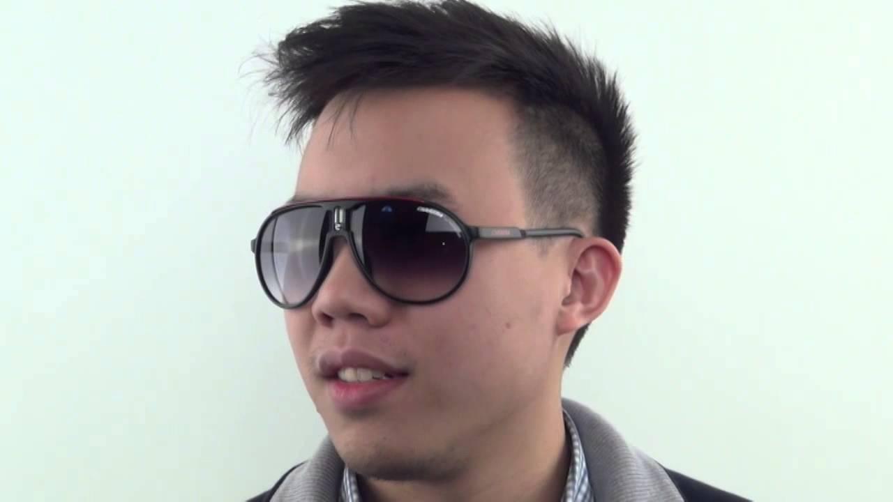 75b5dd3f82 Carrera CHAMPION CDU JJ Sunglasses - VisionDirect Reviews - YouTube