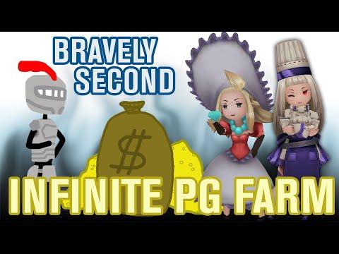 Bravely Second: Infinite PG Farm Guide