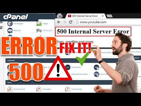 How To Fix 500 Internal Server Error [Step By Step] ☑️