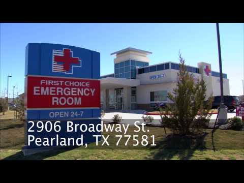 First Choice Emergency Room - Pearland TX