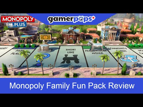 Monopoly Family Fun Pack Review | GamerPops