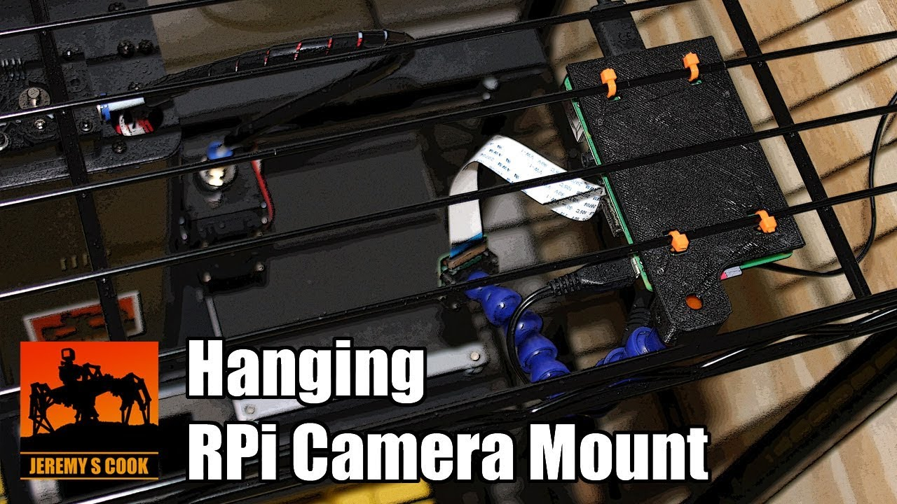 Upside-Down Raspberry Pi and Camera Mount for OctoPrint