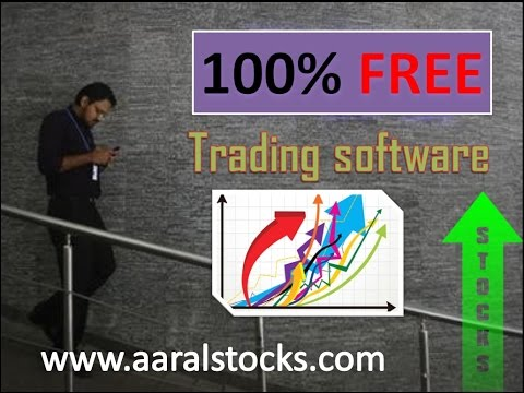 Demo Intro Technical Analysis Software Indian Stock Market with LIVE NSE Futures Options Aaral