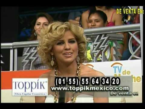 Toppik en tv de noche venta sanborns el palacio de hierro for Sanborns palacio