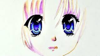 Как рисовать АНИМЕ глаза ПРОСТОЙ рисунок поэтапно(Поэтапный рисунок аниме глаза. Нарисуй сам повторяя этапы пошагово. Посмотри это видео и ты поймешь как..., 2016-10-08T16:17:39.000Z)