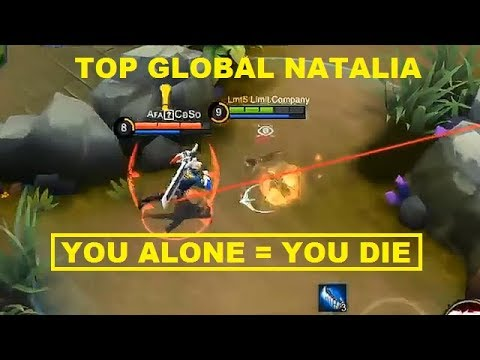 Limit Company Silent Kill, Super Roam Natalia (Top Global Gameplay) - Mobile Legends