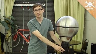 How to Make An Easy Van de Graaff Generator - DIY Extra