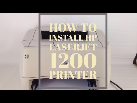 How To Download And Install HP Laserjet 1200 Printer Driver On Windows 7, Windows 10, Windows 8, 8.1