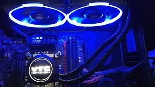 BEST CHEAP CPU LIQUID WATER COOLER REVIEW & SETUP TUTORIAL | VTG240