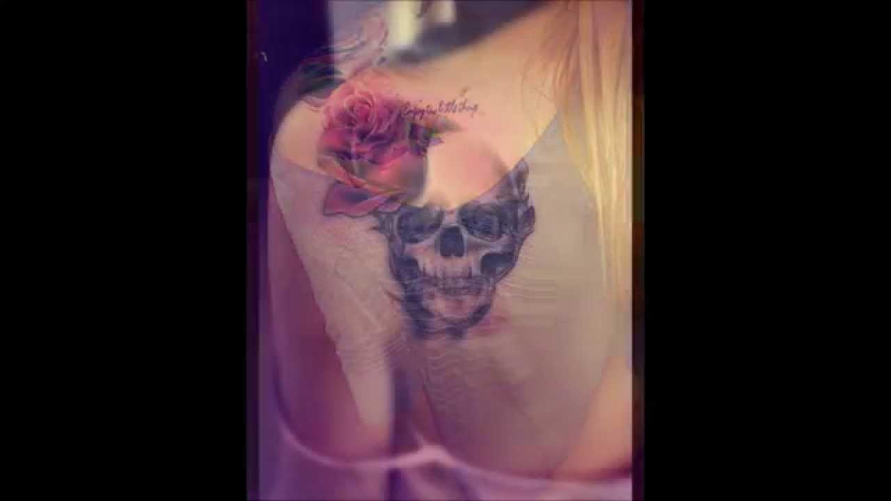 Tatuajes En El Hombro Para Mujer Women Shoulder Tattoos Youtube