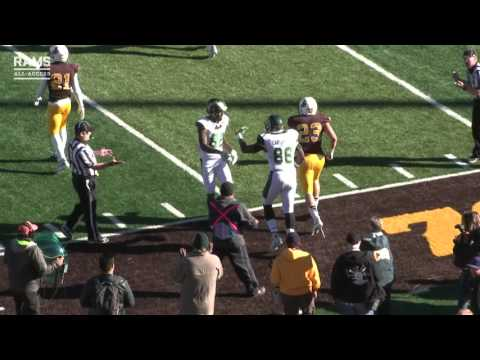 Colorado State Football at Wyoming | Highlights