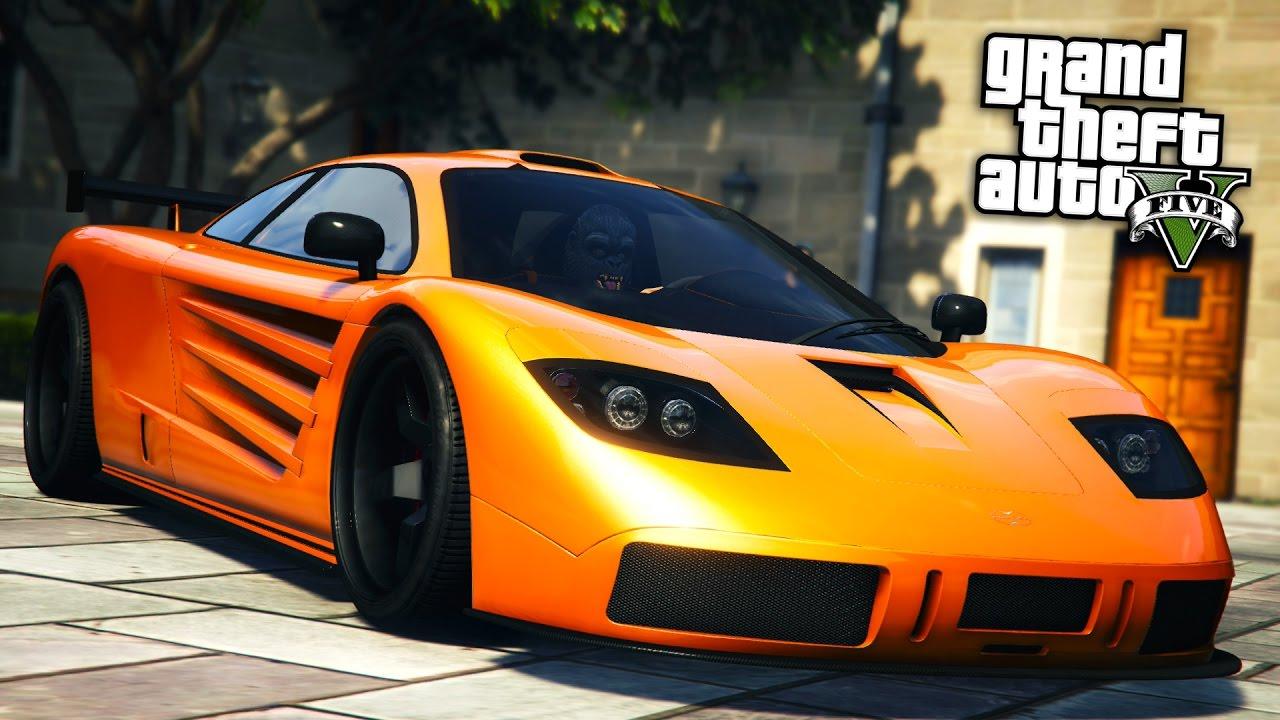 Gta Online Fully Upgraded Progen Super Car Showcase Gta