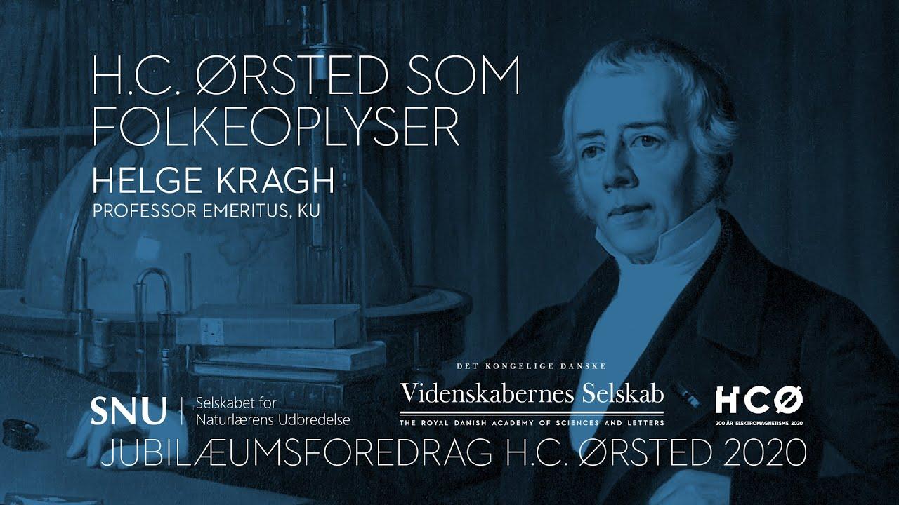 Helge Kragh - H. C. Ørsted som folkeoplyser