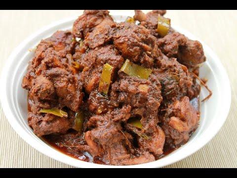 Red Wine Chicken Curry