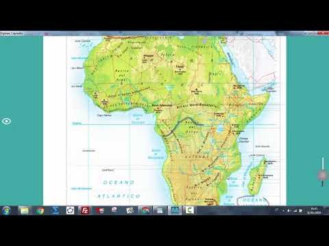 Africa Subsahariana Cartina Fisica.Africa Fisica Video Lezione Di Geografia