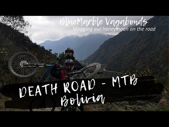 DEATH ROAD - MTB (Bolivia) | #VANlife | Vlog#11 | Gravity Bolivia