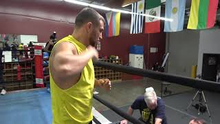 Lomachenko Full Shadow Boxing And Warm Up Routine EsNews Boxing