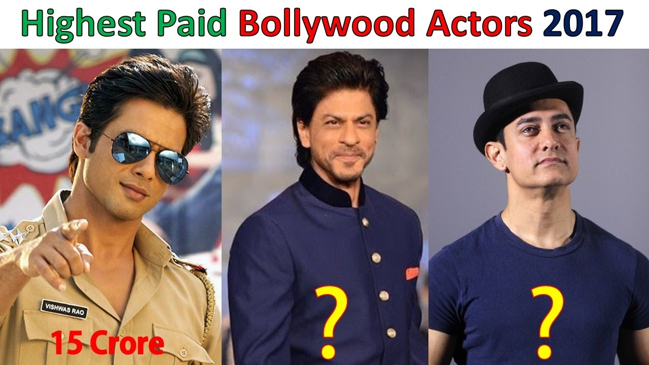 Top 10 Highest Paid Bollywood Actors 2017 - YouTube