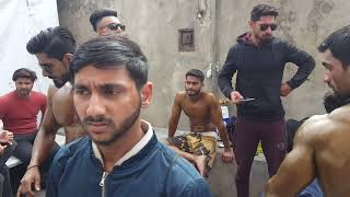 Mr. Pakistan 2019 Backstage and Mr.Punjab bodybuilding