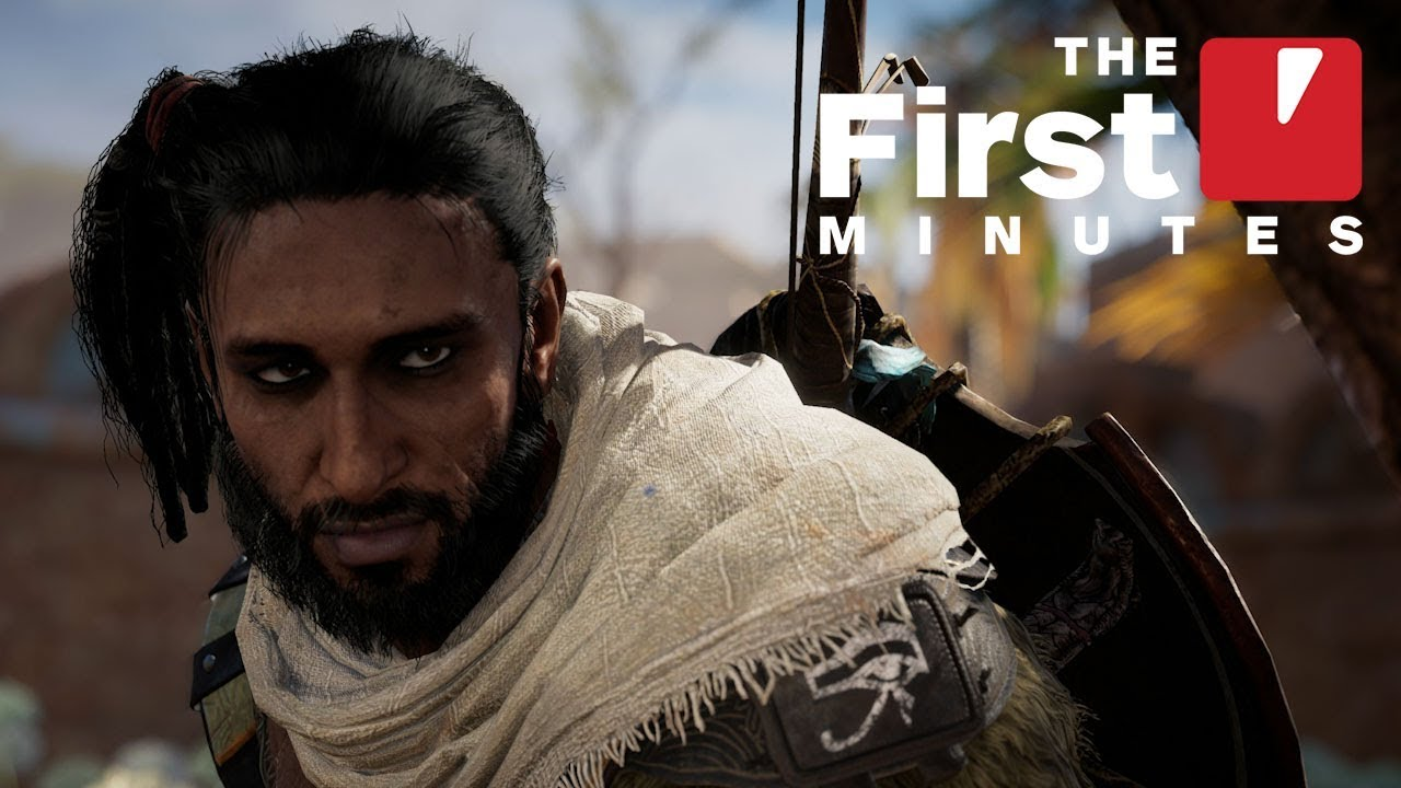 The First 18 Minutes of Assassin's Creed: Origins