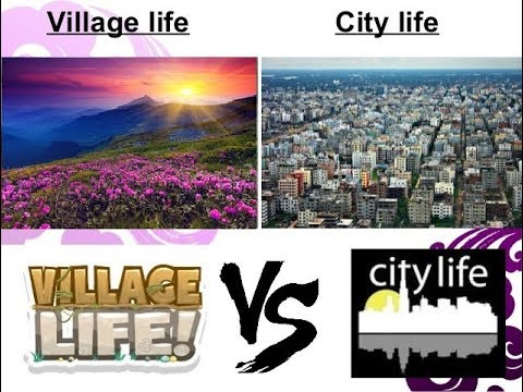 the difference between city and village