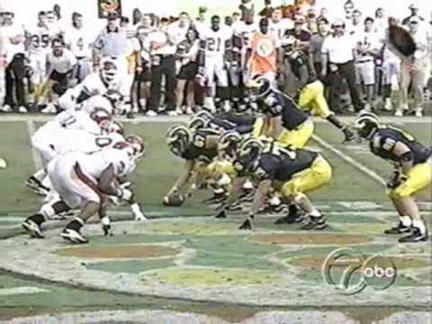 1999 Citrus Bowl: Michigan 45 Arkansas 31 (PART 2)