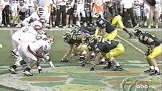 1999 Citrus Bowl: Michigan 45 Arkansas 31 (PART 2)