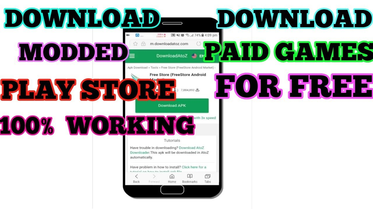 modded play store apk no root download