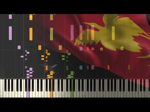 The National Anthem Of: Papua New Guinea [SYNTHESIA]