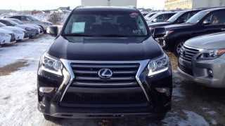 2014 Lexus GX 460 4WD Ultra Premium Package Review in Black