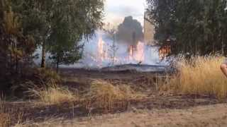 Pożar Budynku Mieszkalnego Omięciny (gm. Joniec) Alarmowo