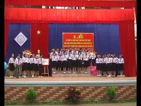 TIENG HAT HOC SINH THCS YEN LAC YEN THUY
