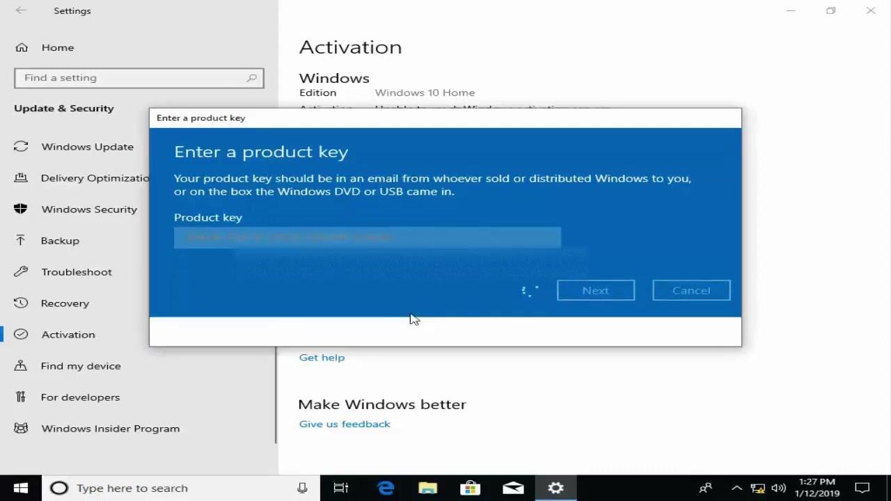 find my windows 10 activation key