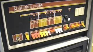 PDP 8e Music Program Minuet AM Radio