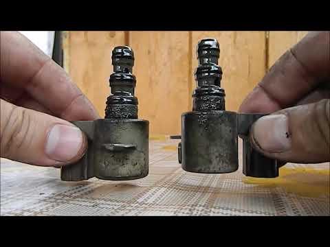 Чистка сеток-фильтров на соленоидах и очистка датчиков на АКПП, Х-Одиссей, РА7, Ф23А