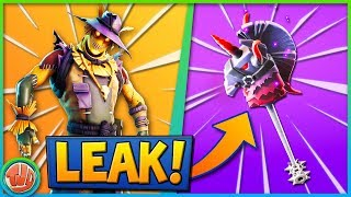 *LEAKED* DARK BOMBER PICKAXE & CUBE EILAND UPDATE!!! - Fortnite: Battle Royale