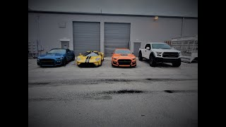 Ford GT vs 2 2020 GT500s DIG RACING. A day of hanging out with Brooks with dragtimes!