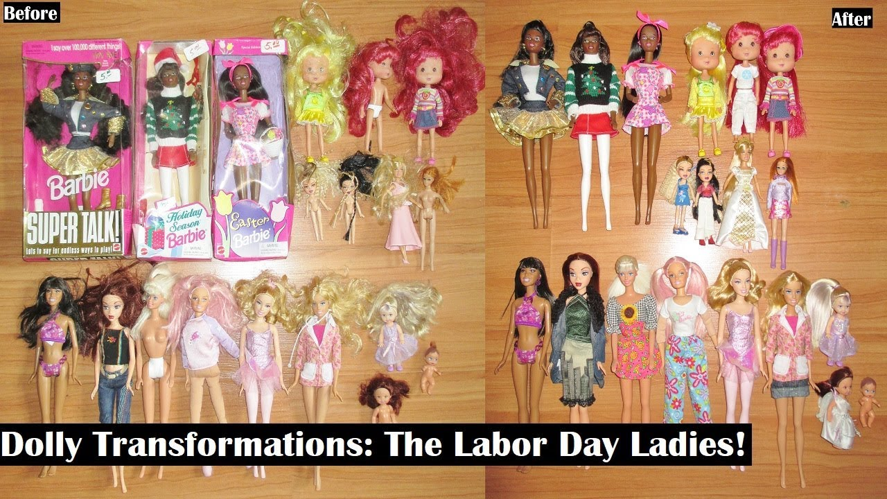 Dolly Transformations: The Labor Day Ladies!