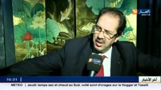 رئيس اللجنة الاولمبية الجزائرية يعبر عن دعمه للمنتخب الوطني للريغبي.