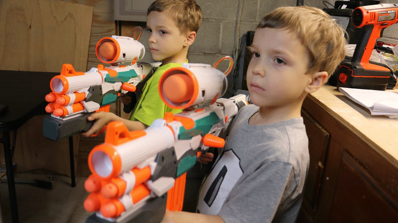 Toys For Twins : Nerf war the welder youtube