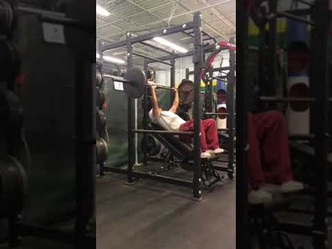 Incline Bench Press on Foam Roller