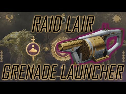 Quick Look at I AM ALIVE - Raid Lair Grenade Launcher