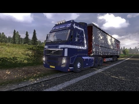 Euro Truck Simulator 2 #4 Drezno-Berlin Travel Video