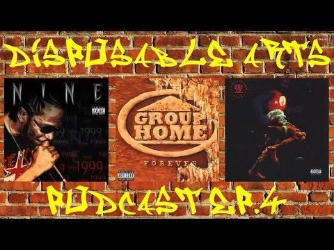 Hip Hop Podcast: Disposable Arts | Ep. 4 | Nine, Group Home & Jedi Mind Tricks