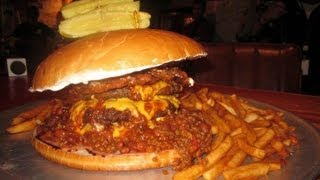 UNDEFEATED 6.5LB CHILI BURGER CHALLENGE!!