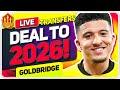 SANCHO DEAL Done? Transfer Very Close! Man Utd Transfer News