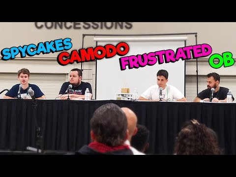 I Met OB, Spycakes, and The Frustrated Gamer IRL! - Retropalooza Camodo Gaming Vlog